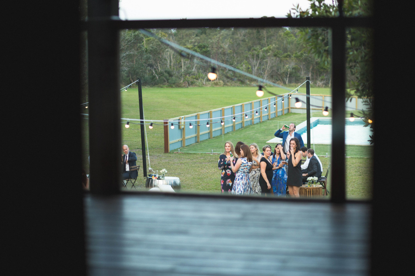 Guests Through Window
