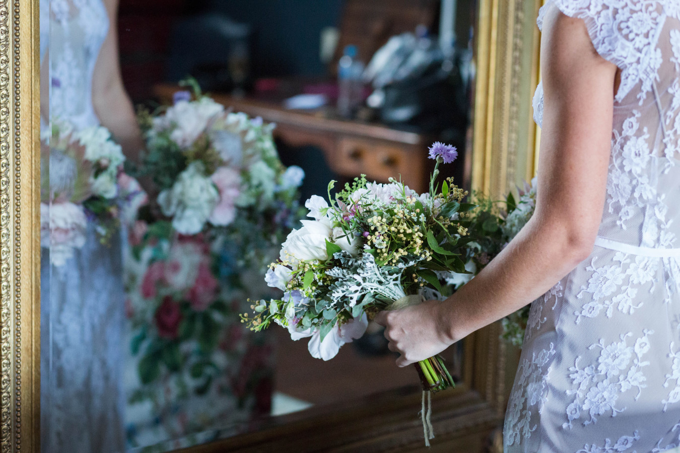 Selecting a bouquet 2