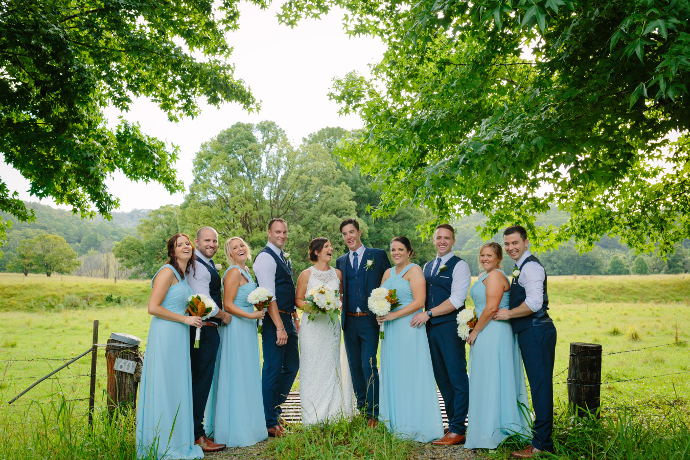 Bridal Party Country