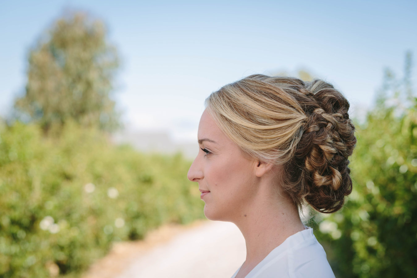 Bride hair detail 2